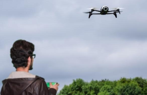 training on drone